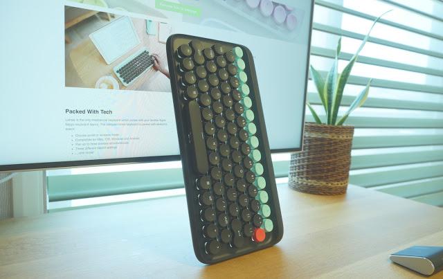 これ以上に可愛いキーボード、他にある?「lofree DOT keyboard」レビュー!