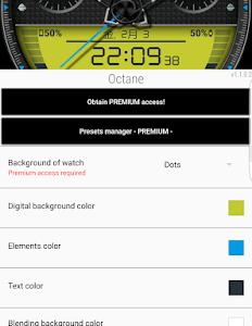 アウトドアライクな見た目で情報量も多いAndroid Wear用ウォッチフェイス「Octane Watch face」