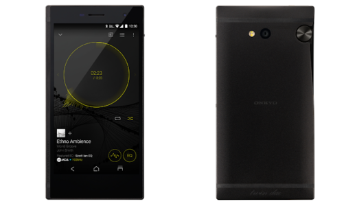 ONKYOから2.5㎜バランス接続も可能な音楽特化型スマートフォン「GRANBEAT」発表! 2月末に発売予定
