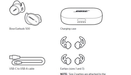 Boseの新ワイヤレスイヤホン「Earbuds 500」のユーザーマニュアルがFCCにて公開。フラグシップの「Earbuds 700(仮)」も通過?