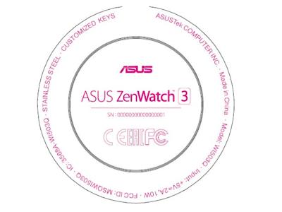 ASUS ZenWatch 3がFCCに登場 ZenWatch初の円形スマートウォッチになる?
