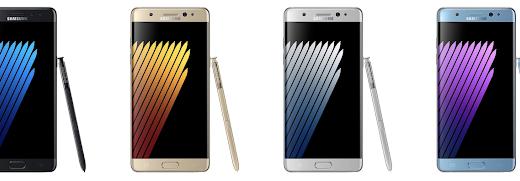 Samsung、虹彩認証搭載のNoteシリーズ最新モデル「Galaxy Note 7」正式発表!