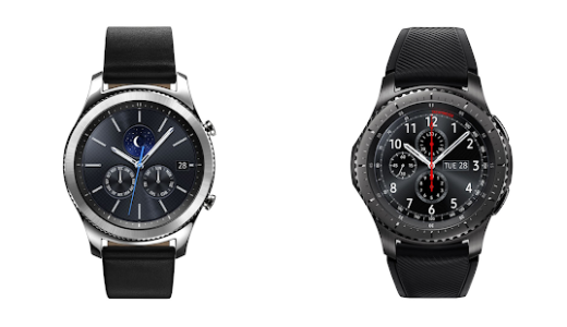 【IFA 2016】Samsung、「Gear S3 classic・Gear S3 frontier」発表