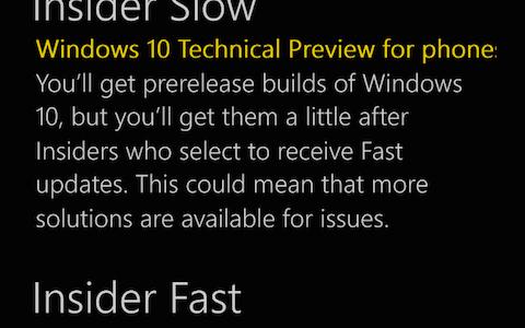 Lumia1020にWindows10 TP版をインストールしてみた!