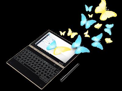 【IFA 2016】Lenovoの「YOGA BOOK」が未来的で魅力的